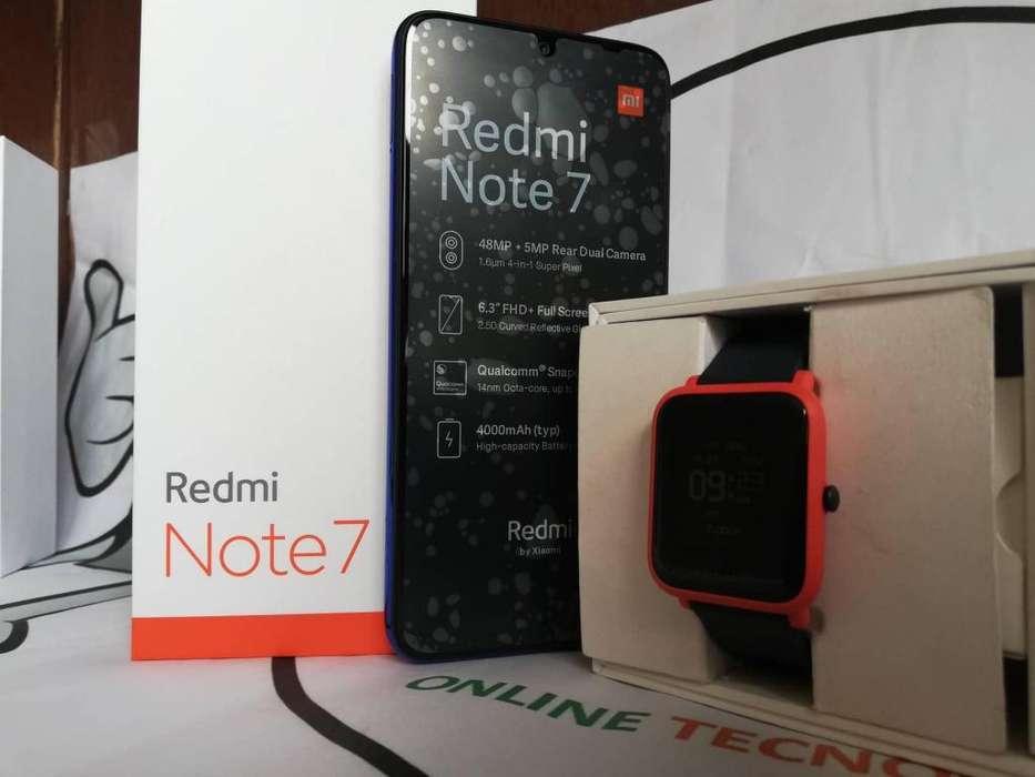 Célular Libre Xiaomi Redmi Note 7 64GB/128GB 4Ram Regalo Envió