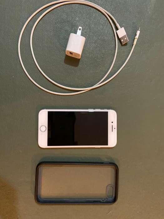 Vendo iPhone 7 Silver de 128 Gb