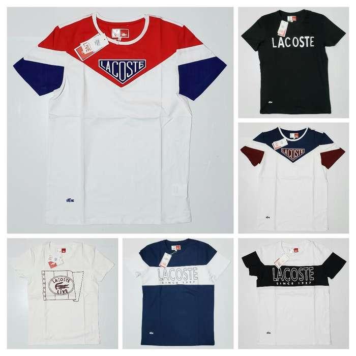 Camisetas Alta Gama Lacoste