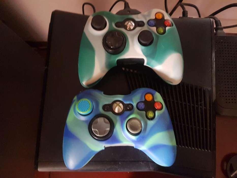 Xbox360 Full Todo Le Funciona Controles