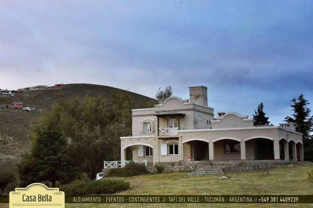 qm36 - Casa para 2 a 10 personas en Tafí Del Valle