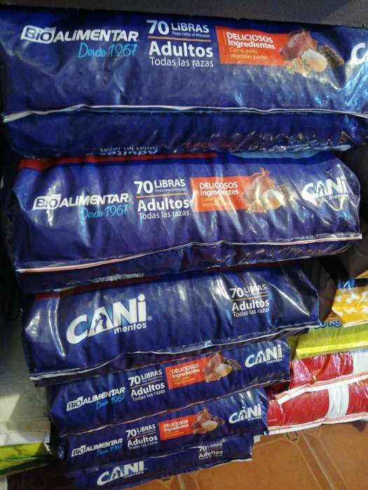 Canimentos Cani Prime Pollo 70lb 32kg Ad