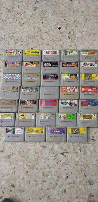 Cases de Super Famicom