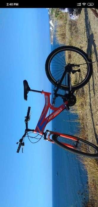 bicicleta de doble supension