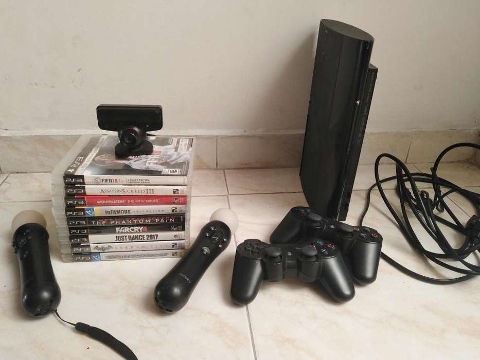 Play Station 3 con Play Station Move