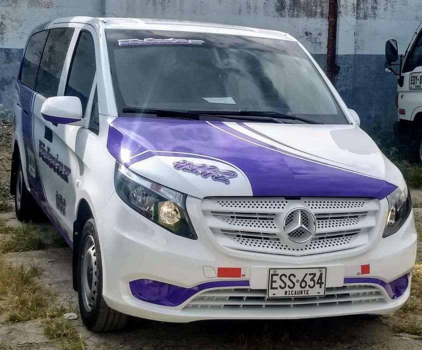 Camioneta Mercedes Vito 2018 en Velotax