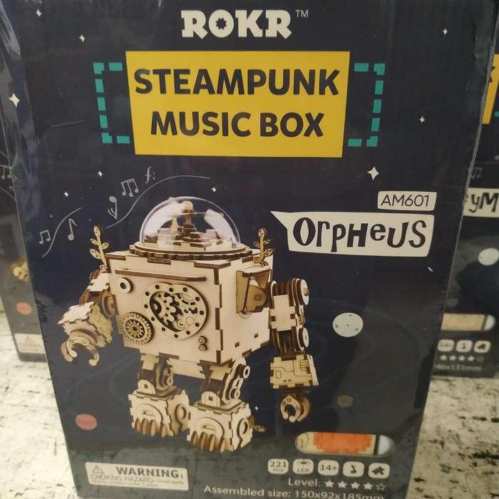 Puzzle Musical Robotime Rompecabezas