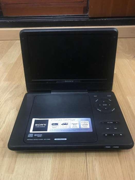 Reproductor de Dvd/Cd Portatil Sony
