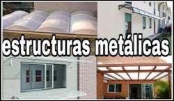 Estructruras Metalica Domo Policarbonato