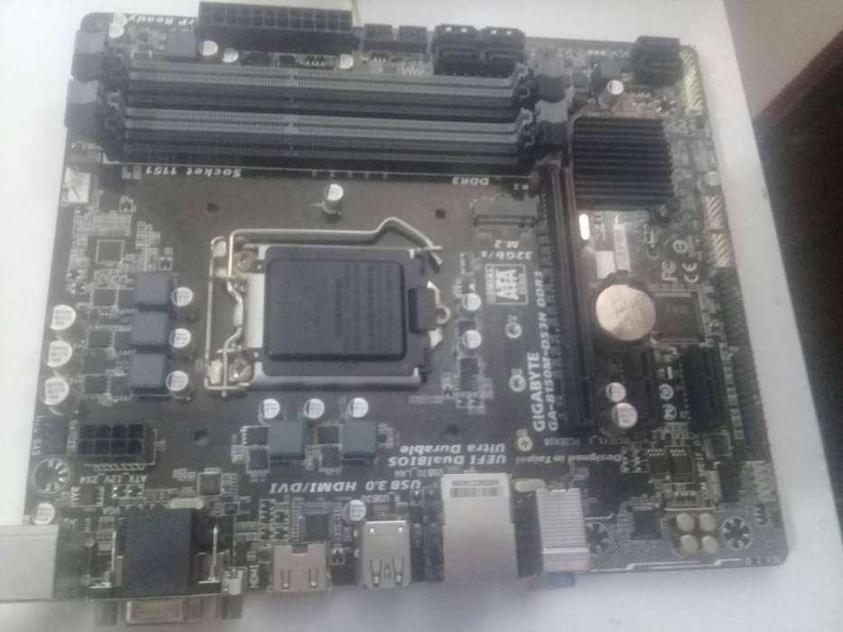 Placa madre Gigabyte Intel 6ta/7ma gen dd3