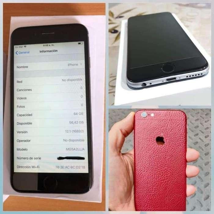 iPhone 6 64gb Rojo