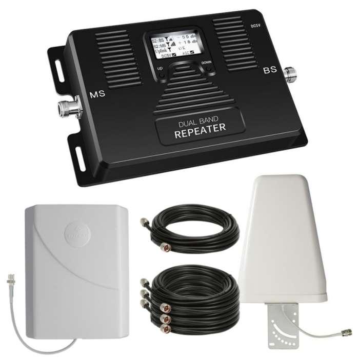 Ampliador de señal doble potencia para todos los operadores