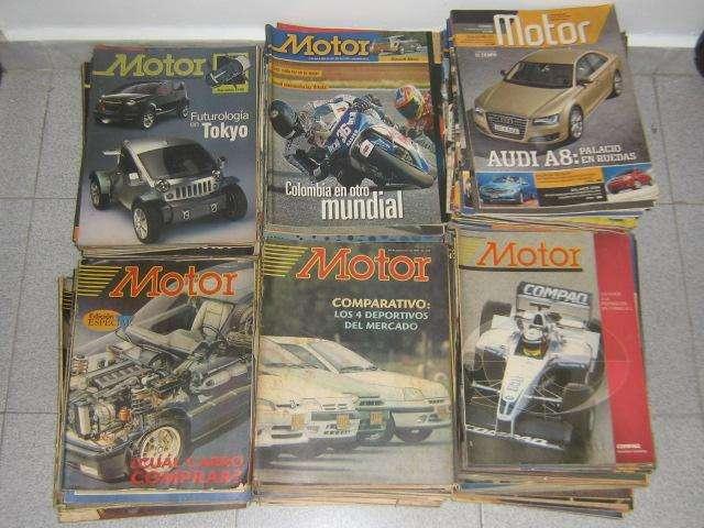 Vendo coleccion de revistas Motor