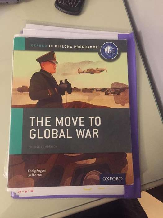 Libro de History The Move To Global War