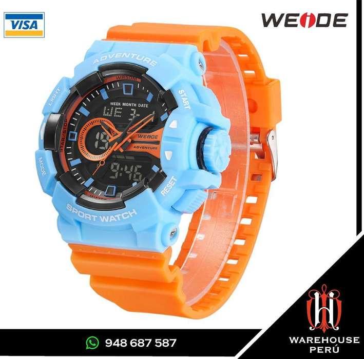 Reloj Weide Deportivo Adventure Series