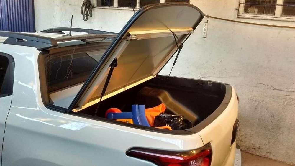 Tapa Rebatible Aluminium Fiat TORO .