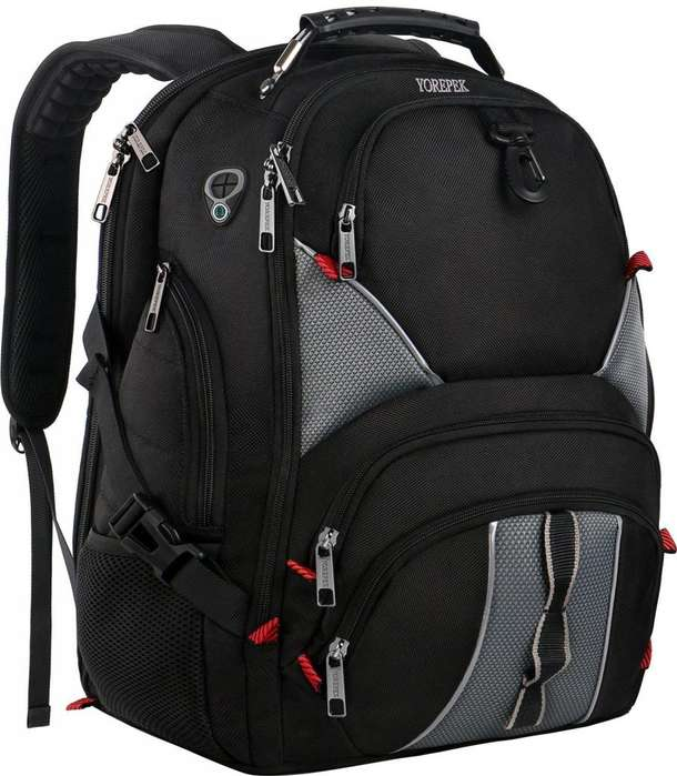 <strong>mochila</strong> Para Laptop Color Negro Traida de USA