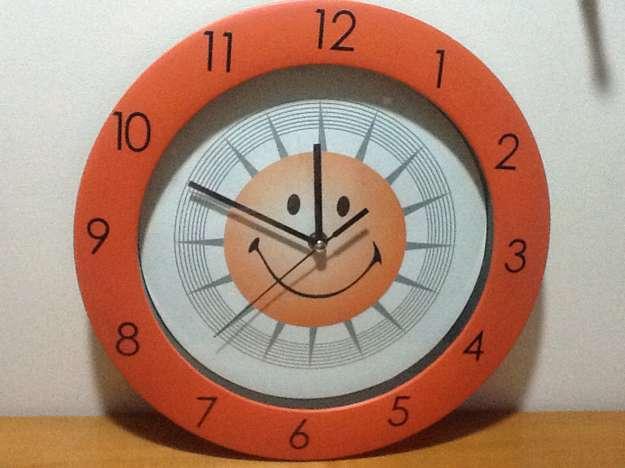 Reloj Infantil de Pared Carita Feliz a Muy Buen Precio!!