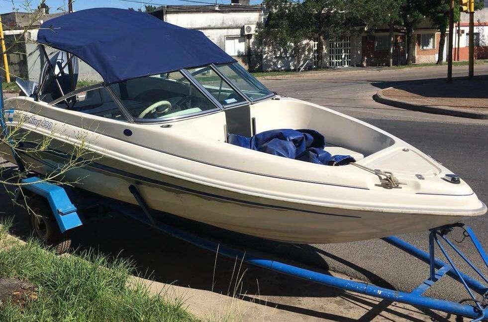 Lancha Open Arco Iris Fishing 490 con YAMAHA 85HP 2t Modelo 2002