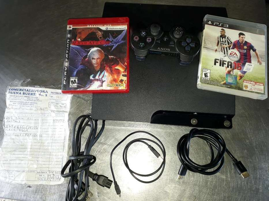 Playstation 3 con Todo. Esta Excelente