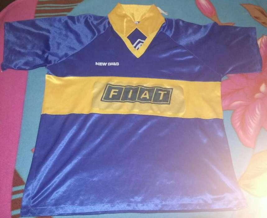 Camiseta de Boca Juniors fiat Retro.