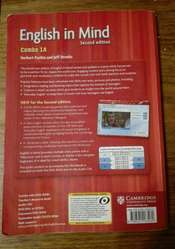 English In Mind Level 1a Combo A With Dvd-rom Herbert Puchta. SECOND EDITION. CAMBRIDGE.   OLXRoxyLibros