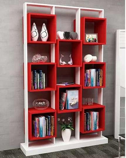 Mueble Biblioteca Organizador Living Rack
