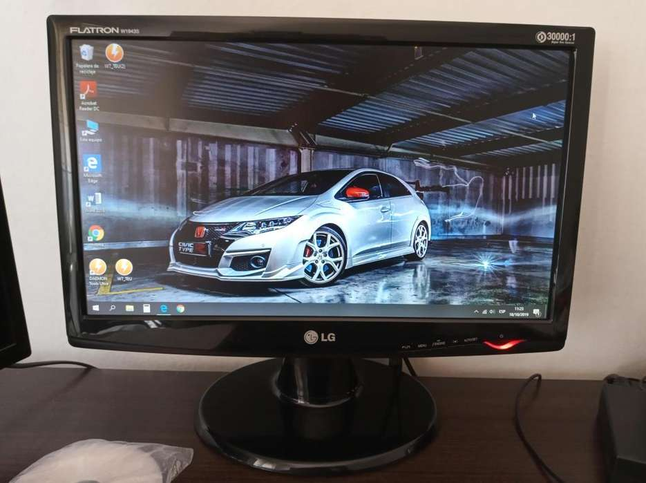 Monitor LG 19 Pulgadas (Impecable)