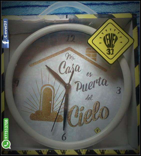 Reloj de Pared EXCLUSIVO!