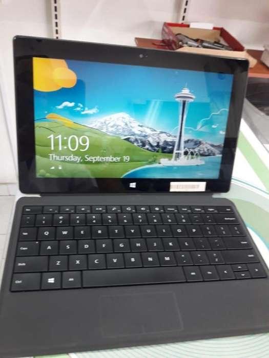 Tablet surface con teclado