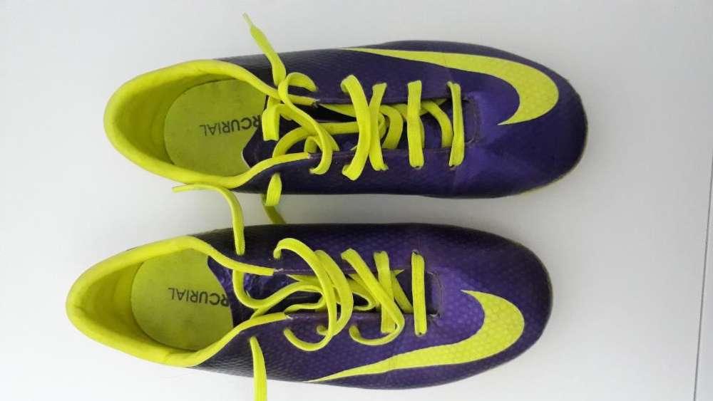 Botines Nike Mercurial - Talle 36