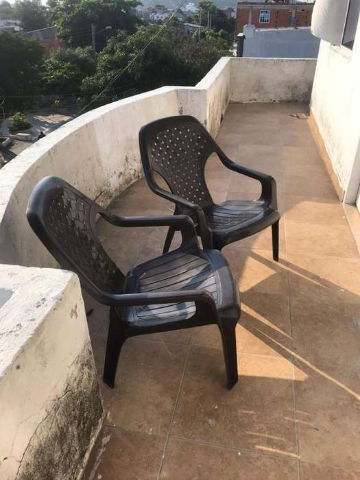Dos hermosas <strong>silla</strong>s playeras en Cartagena
