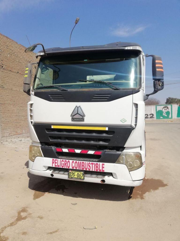 Remate de Tractocamión Sinotruk A7 GNV año 2012 Inter Perú