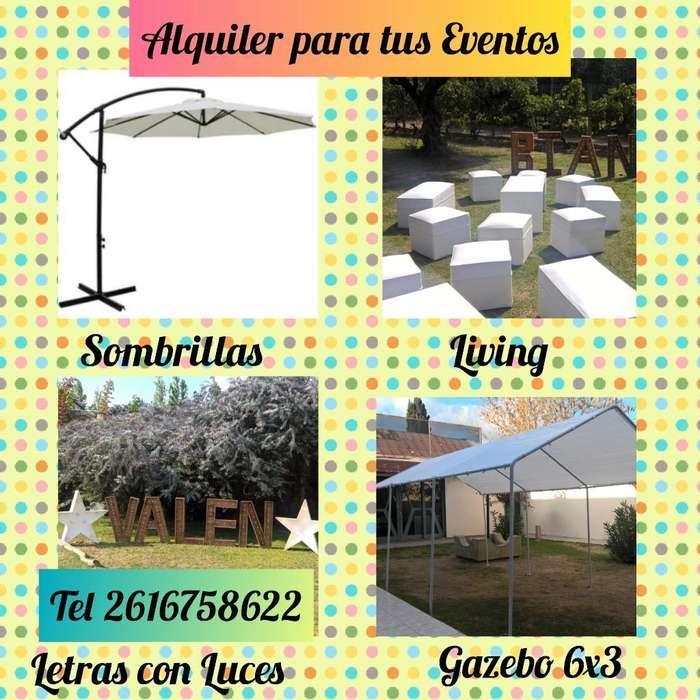 Living, Sombrillas,gazebo,inflables