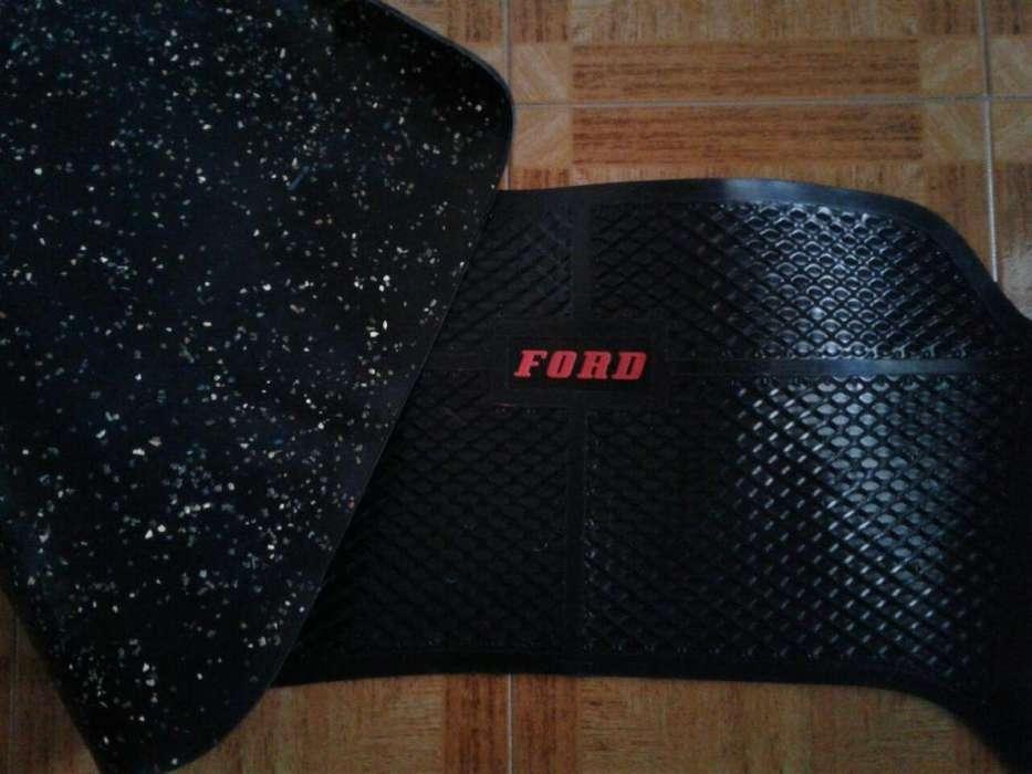 Cubre alfombra Pick up Ford F 100 81/91 Vaprén legítimo