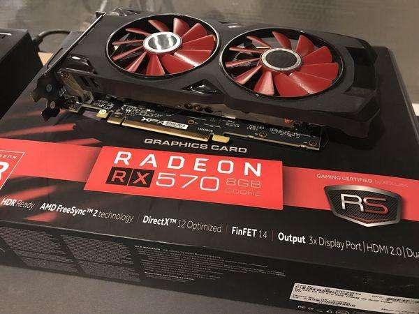 Tarjeta gráfica Radeon Rx 570 Rs