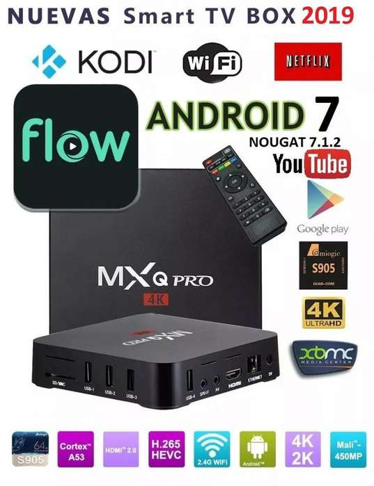 Kit Conversor a Smart TV Android 7 para TV LCD y LED 1/8 GB