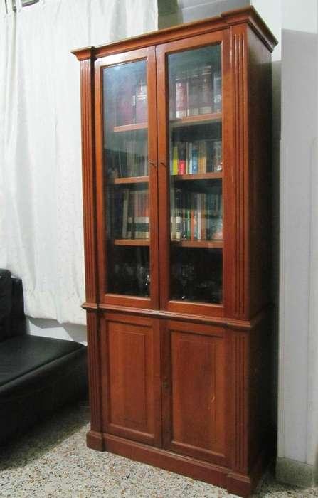 Mueble Biblioteca Excelente Madera