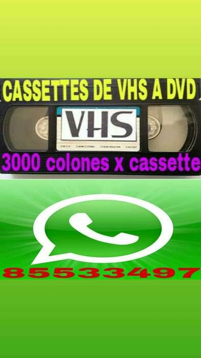 Cassettes a Dvd Y Cd