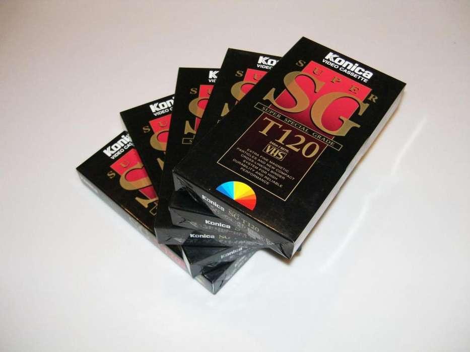 Cassettes Virgen VHS made in Japan
