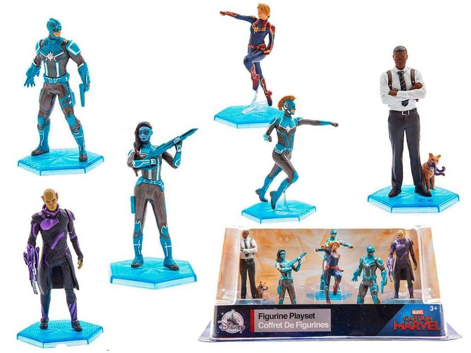 Set coleccionable Figuras CAPITANA MARVEL Set 6