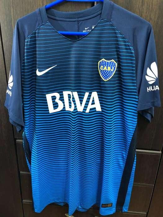 Camiseta Alternativa Boca 2017