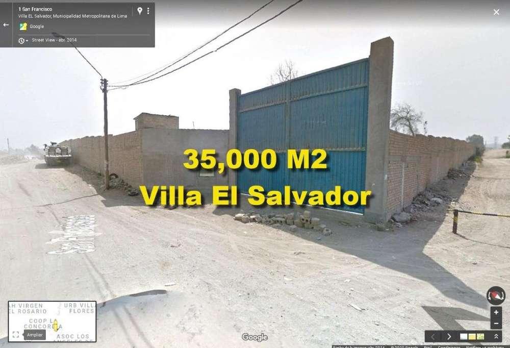 VENDO <strong>terreno</strong> COMERCIAL DE 35,000 MT2 EN VILLA EL SALVADOR