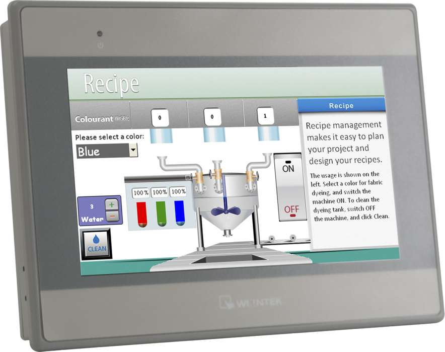 Pantalla Tactil 7 Lcd Tft Weintek Mt8071ie Nueva