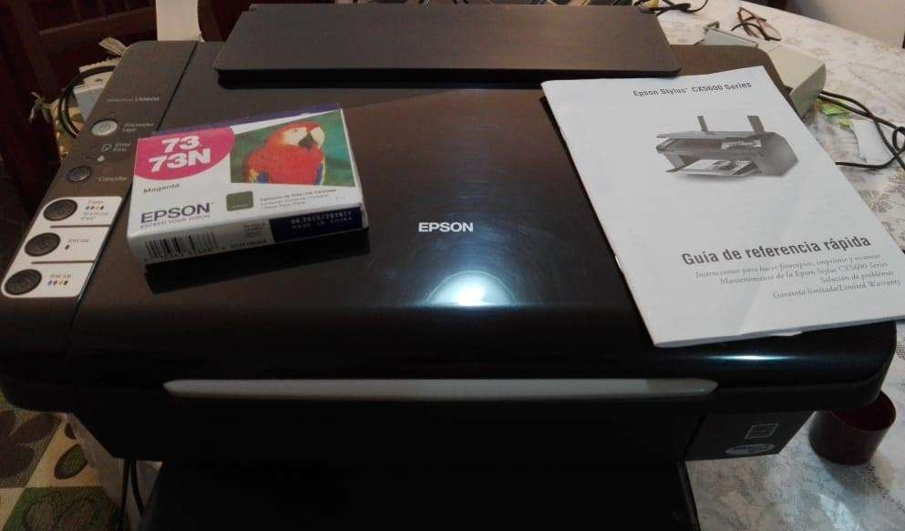 Impresora Epson Stylus Cx 5600 (incluye 1 Cartucho De Tinta)