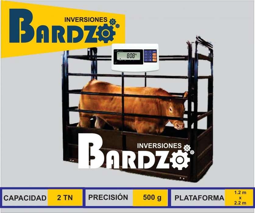 BALANZAS PARA GANADO DE 1, 2 TONELADAS