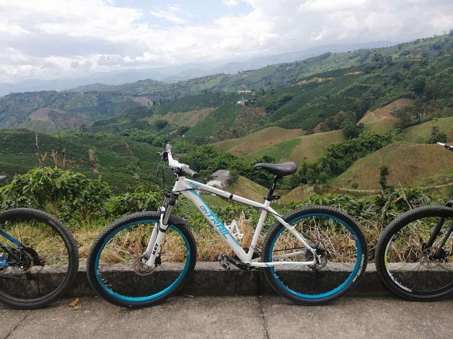 Bicicleta _ontrail_talla 18_rin 27'