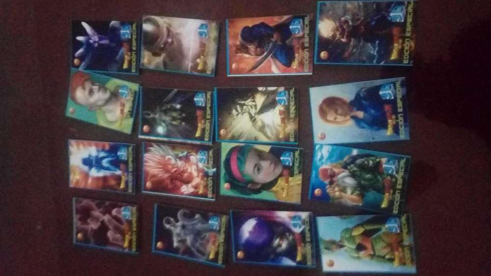 Cartas DragonBollZ