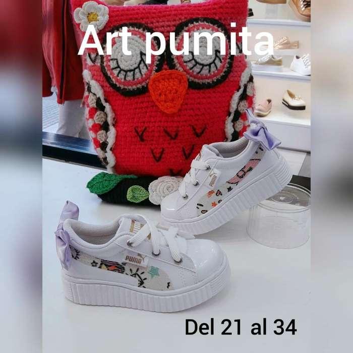 Zapatillas Pumita