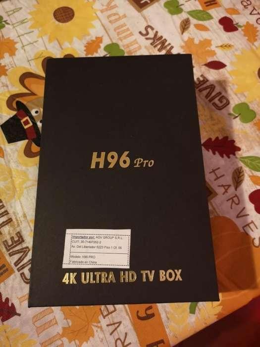 Tv Box Reproductor Multimedia 4k H96 Pro